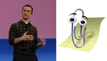 Actor Joseph Gordon-Levitt: A.I. isn't as smart as you think it is. Take Microsoft's Clippy, for example