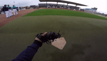Seattle Mariners use GoPro camera to show catcher's perspective during Spring Training