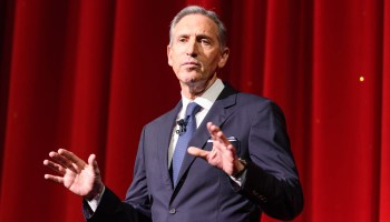 Howard Schultz sued over unsolicited text messages to voters as he mulls presidential bid