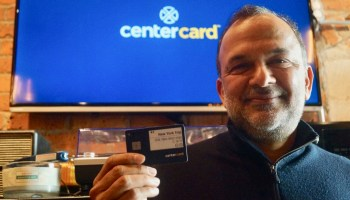 Concur CEO Steve Singh's next venture: A smart corporate credit card with touchscreen and battery