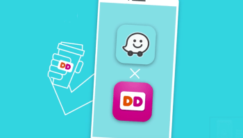 Google adds order-ahead feature to Waze app, starting with Dunkin' Donuts