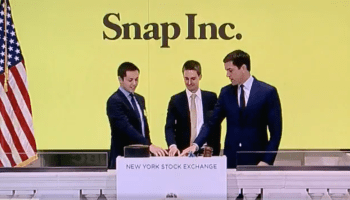 Snap shares pop on Wall Street, open at $24 per share in biggest tech IPO since Alibaba