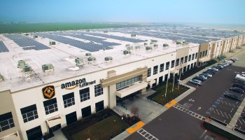 Amazon plans massive solar energy installations on fulfillment center rooftops