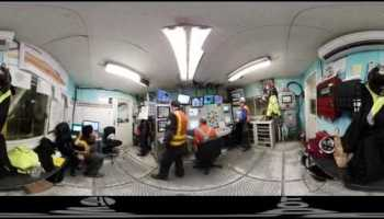 New 360 video shows tunnel machine Bertha at work beneath Seattle as it enters the home stretch