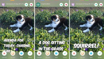 Microsoft shows off powerful tech with 'Sprinkles' photo editor — but there's no need for Snapchat to panic