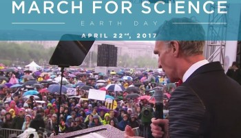 Watch 'Science Guy' Bill Nye's epic defense of science at 'March for Science' in Washington, D.C.