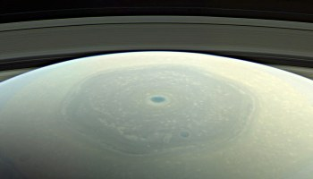 Cassini view of Saturn and rings