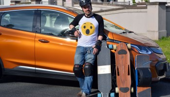 Geared Up goes electric: Hands-on with the Chevy Bolt EV and our favorite high-tech skateboards