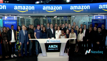 How much was amazons ipo