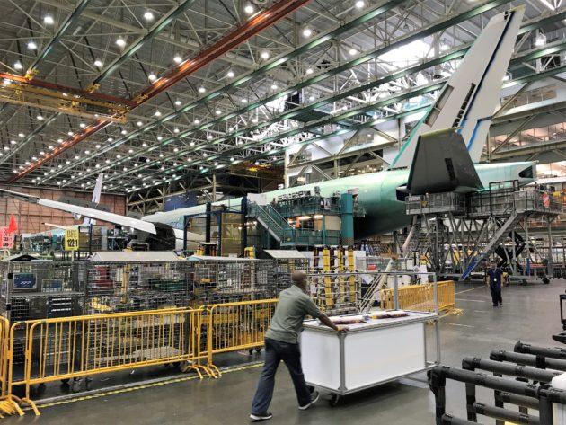 Boeing Everett plant