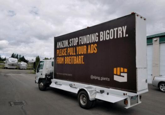 Billboard truck