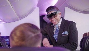 Air New Zealand with HoloLens
