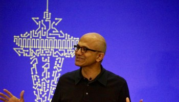 Microsoft CEO Satya Nadella to student innovators: You've won the lottery — spend it wisely