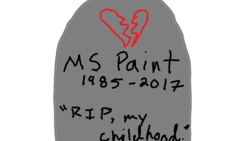 Microsoft Paint's days are numbered as it appears on Windows 10 Fall Creators Update chopping block