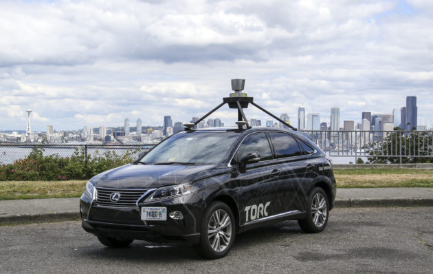 Self-driving car arrives in Seattle after 2,500-mile autonomous  cross-country trip - GeekWire