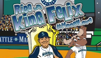 Seattle Mariners pitcher and Moose mascot stand up against internet bullies in new kids book