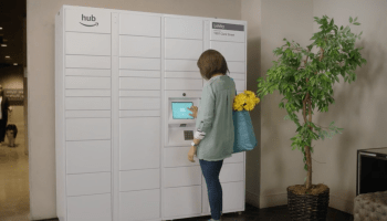 Amazon's new 'Hub' delivery lockers will accept packages from any sender