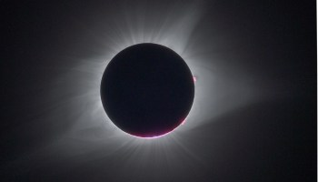 Total eclipse dims the sun over the U.S., bringing delicious darkness
