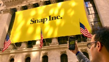 Snap stock soars as Snapchat parent notches 1st earnings beat as a public company
