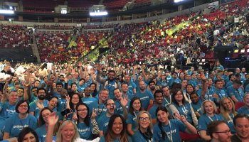 An Instant Pot in every kitchen: Amazon packs Seattle arena for 'all hands' meeting