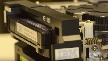IBM and Sony breakthrough on tape storage density could lower cold storage costs again