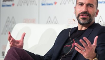 Uber CEO expects self-driving cars to start picking up passengers in 18 months. Flying cars? 5-7 years
