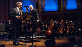 Watch Steven Spielberg shock Seattle Symphony crowd with guest conductor John Williams