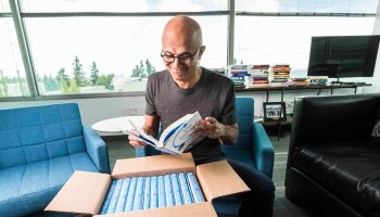 The story behind Microsoft CEO Satya Nadella's new book, 'Hit Refresh'