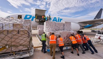 Amazon flies cargo plane into hurricane-devastated Puerto Rico, loaded with donated supplies