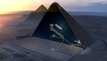 Particle physicists detect a mysterious Big Void inside Egypt's Great Pyramid of Giza