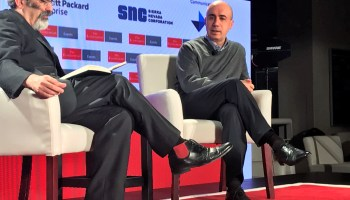 Oliver Morton and Yuri Milner