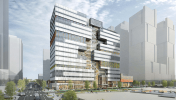 Amazon's 'urban treehouse' revealed in new images of future Seattle office building