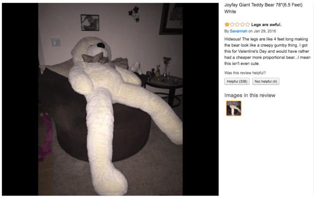 His Company Sells A Giant Teddy Bear That Went Viral For The Wrong