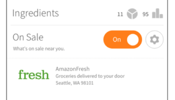 Allrecipes adds AmazonFresh integration to let cooks get ingredients delivered