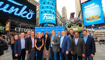 Funko CEO reacts to stock's 40% plunge on figurine maker's first day as a public company