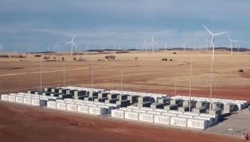 Tesla battery bank