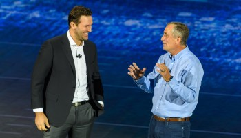 Intel brings out former NFL star Tony Romo at CES keynote to tout company's sports technology