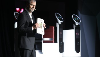 Are these LG robots going to take your job? Not anytime soon.