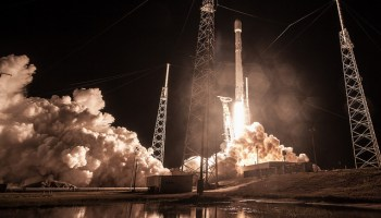 Mysterious U.S. government spy satellite believed to be lost after SpaceX launch