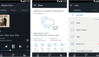 Amazon adds voice control to Alexa app for Android with iOS update on the way