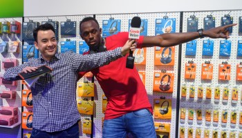 Usain Bolt at CES: Talking chicken nuggets and tech with the world's fastest man