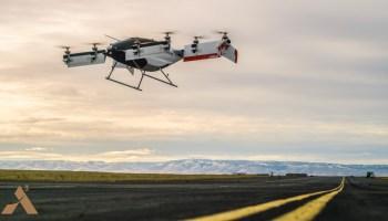 Vahana test flight