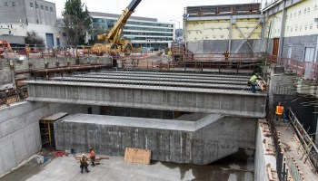 This was the pits: Time-lapse video shows highway fill in hole where Seattle tunnel machine ended