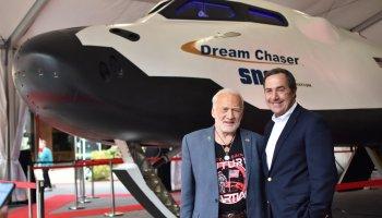 Buzz Aldrin and Mark Sirangelo