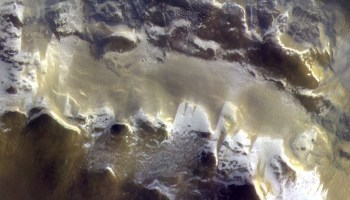 Europe's Trace Gas Orbiter sends its first color picture of Mars – and it's spectacular