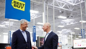 Amazon and Best Buy, better together? Smart TV deal is online giant's latest move into physical retail