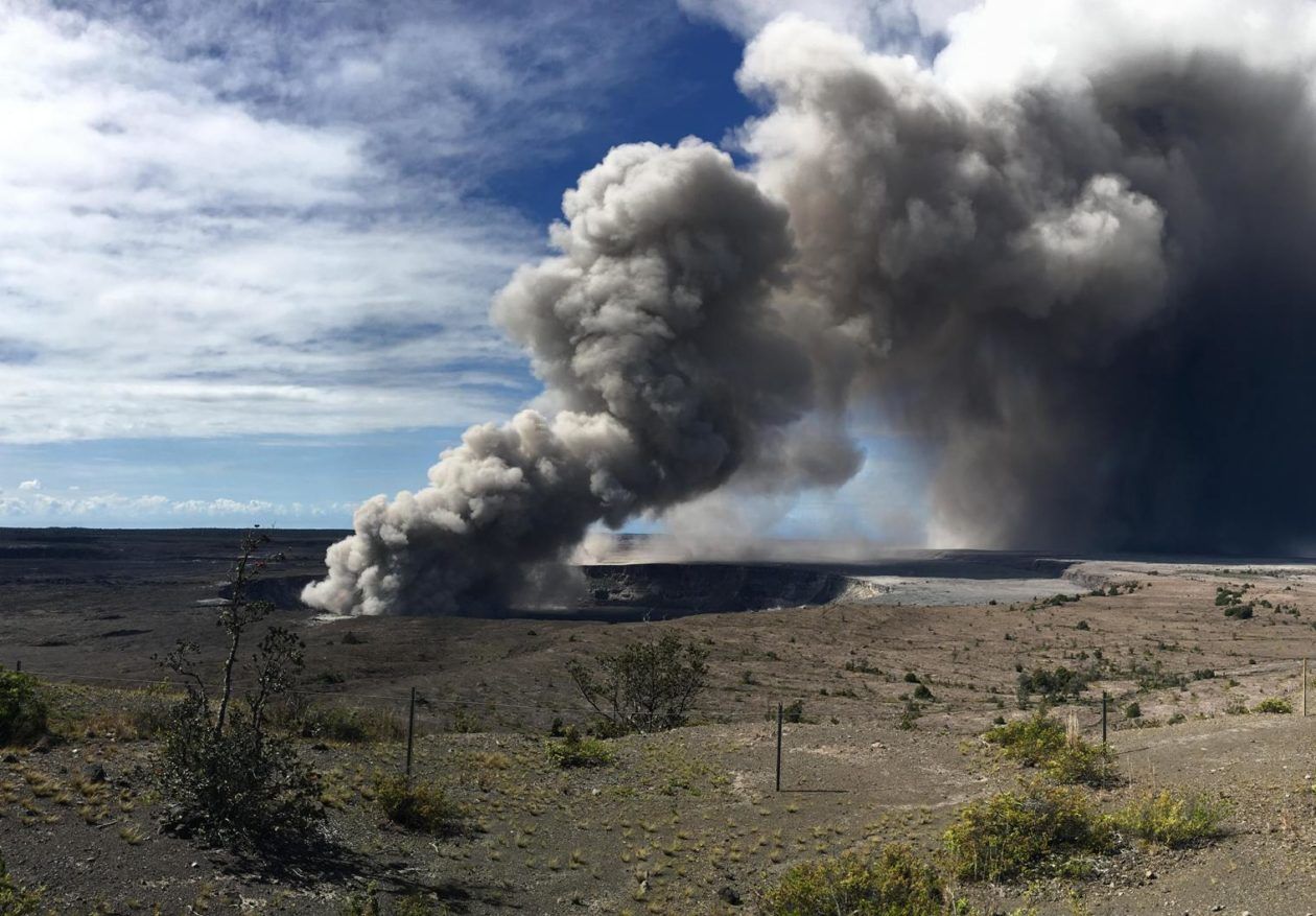 Kilauea Volcano Sparks Memories 38 Years After Mount St
