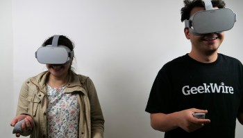 Virtual reality unleashed: Early impressions of Oculus Go from a bunch of us at GeekWire