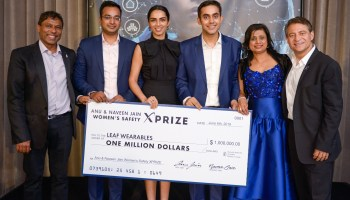 Indian startup Leaf Wearables takes first place in $1M Women's Safety XPRIZE  competition