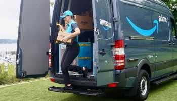Amazon's new blue crew: Tech giant enlists entrepreneurs to own the 'last mile,' delivering packages in Prime vans and uniforms